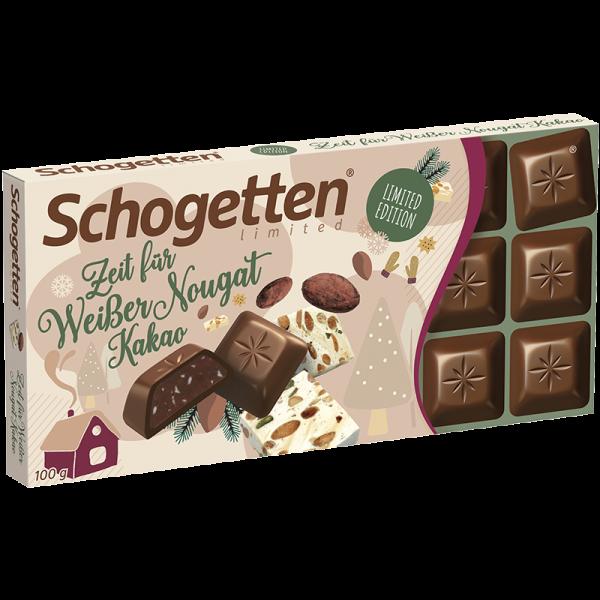 """Limited """"Zeit für"""" Weißer Nougat Kakao"""