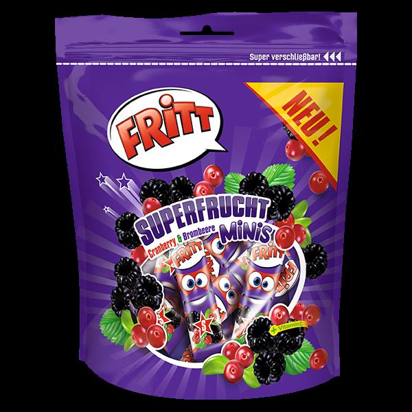 Superfrucht Minis Cranberry&Brombeere 140g