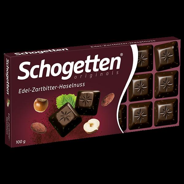 Edel-Zartbitter-Haselnuss 100g
