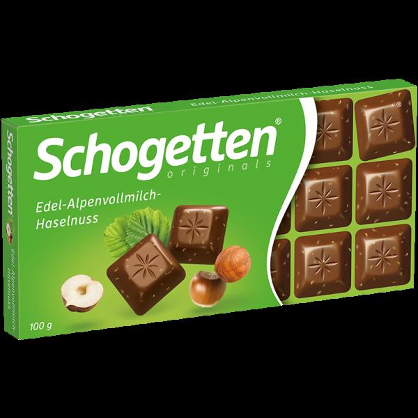Schogetten Edel-Alpenvollmilch-Nuss 100g
