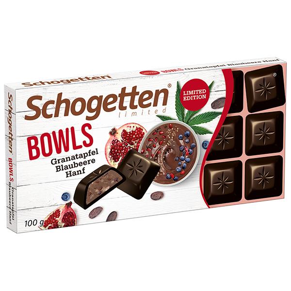 "Limited Edition ""Bowls"" Granatapfel Blaubeere Hanf"