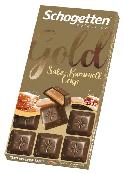 Gold Salz-Karamell Crisp 100g