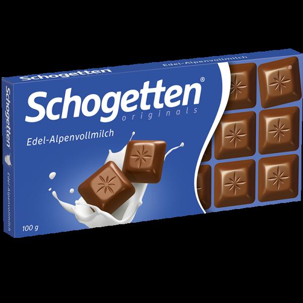 Schogetten Edel-Alpenvollmilch 100g